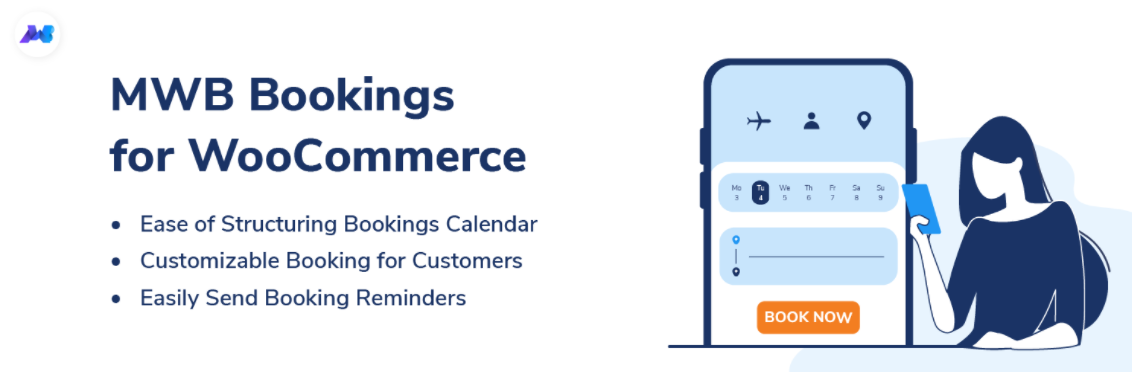 Bookings for WooCommerce