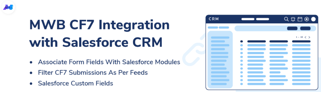 cf7 integration with salesforce crm
