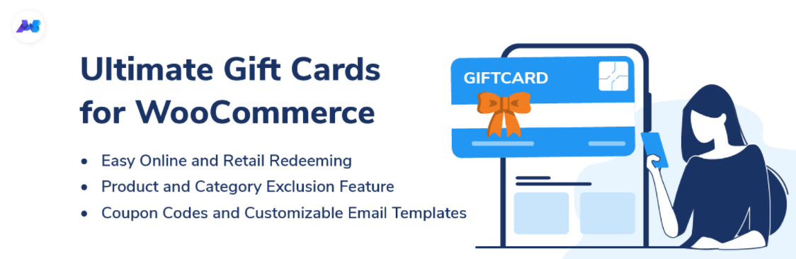 ultimate woocogmmerce gift cards