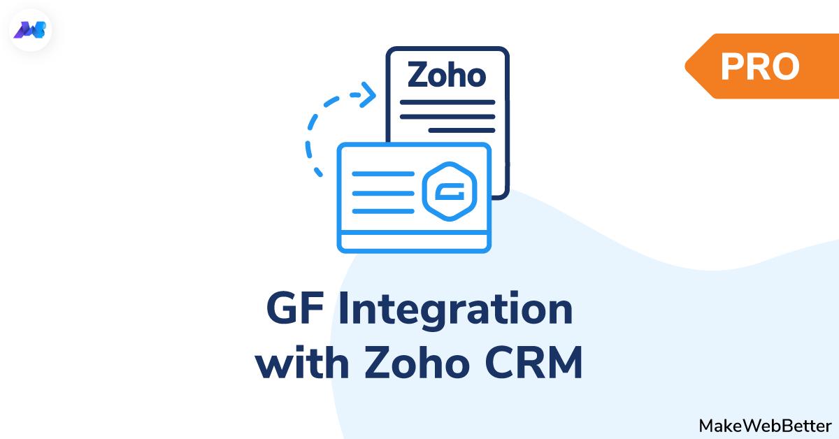 gf integration with zoho crm