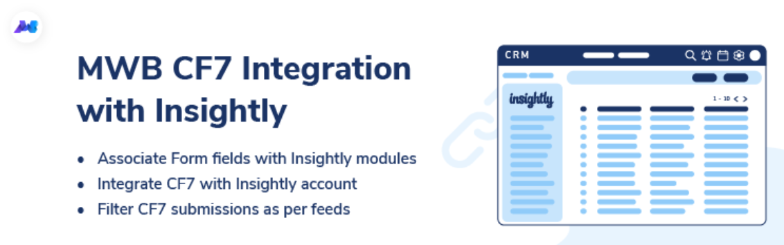 cf7 integration with insightly