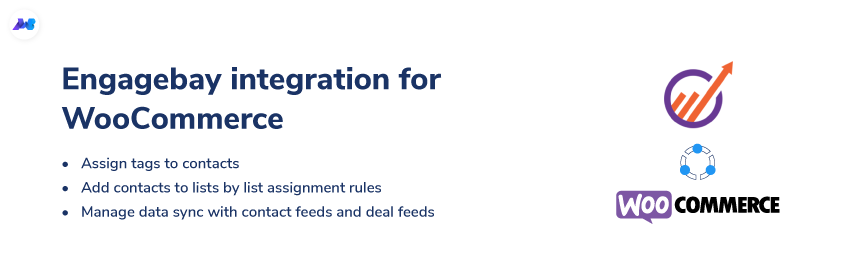 integration with engagebay for woocommerce