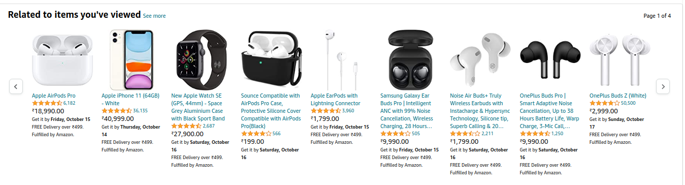 Related items on Amazon